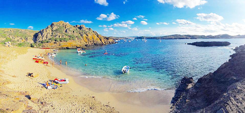 Imagen de la Illa d'en Colom.