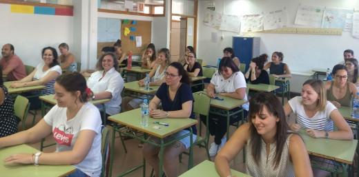 Imagen de los exámanes en Menorca.