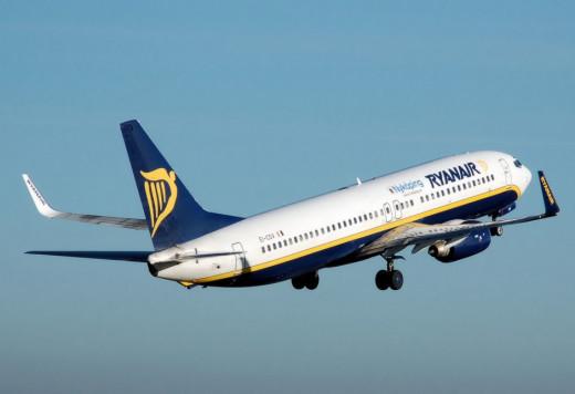 Avión de Ryanair.