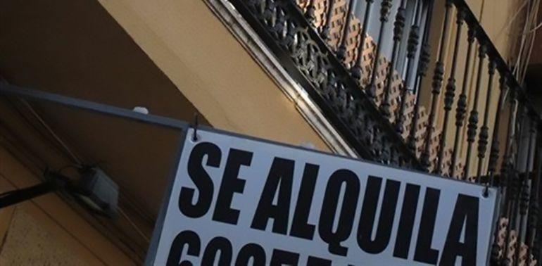 Cartel de Se Alquila.
