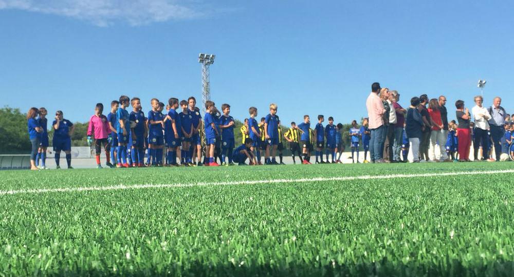 Imagen del acto de inauguración (Fotos: CCE Sant Lluís)