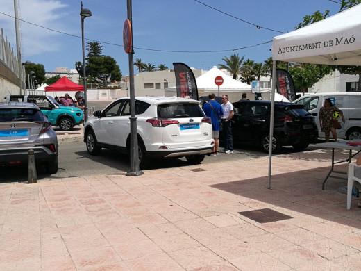 (Fotos) Feria y mercado verde en Maó