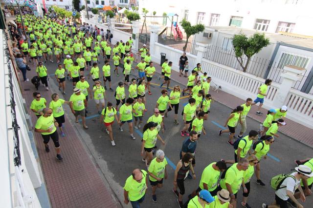 Imagen de la salida de la prueba (Fotos. deportesmenorca.com)