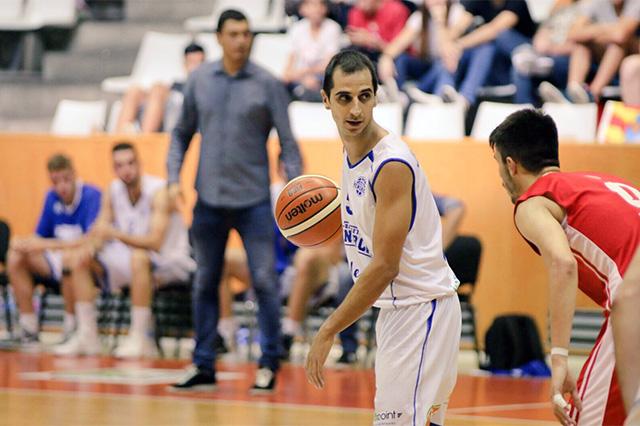 Pitu Jiménez en un partido de la temporada 2017-18.