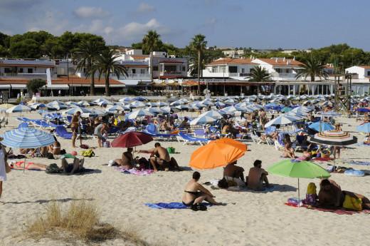 Imagen de la playa de Punta Prima (Foto: Tolo Mercadal)