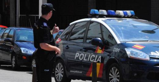 Los agentes de la Policía tuvieron que actuar.
