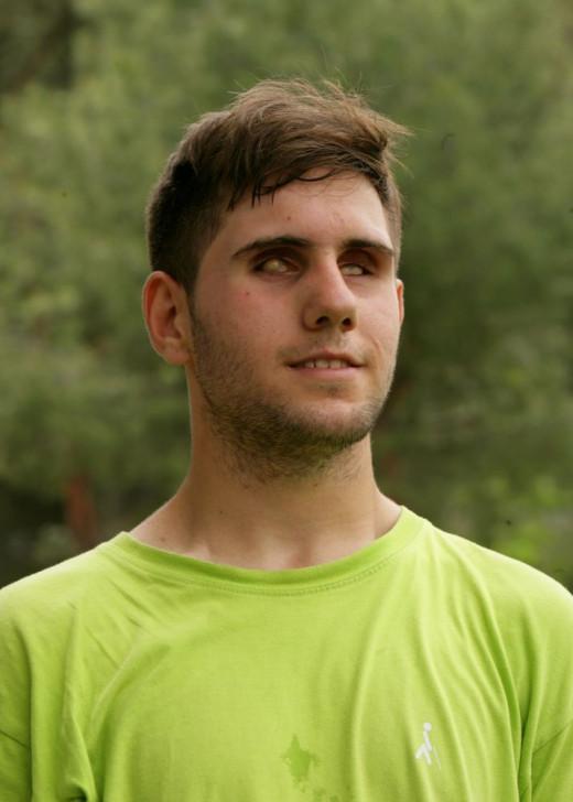 Miguel A. Sánchez disputará con España el Mundial de fútbol para ciegos.