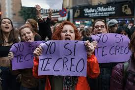 """El caso de """"La Manada"""" y su desarrollo ha provocado diversas movilizaciones en toda España."""