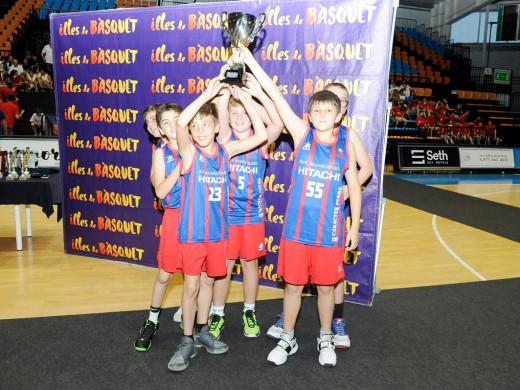 (Vídeo y galería de fotos) Multitudinaria fiesta del baloncesto