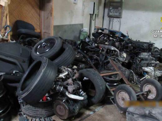 (Fotos) Golpe a los talleres ilegales en Balears