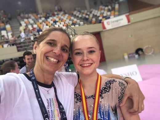 (Galería de fotos) Georgia Warren, bronce en el Nacional de gimnasia rítimica
