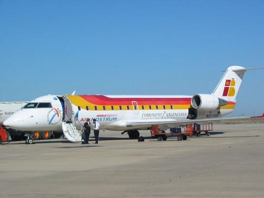 Avión compañía Air Nostrum