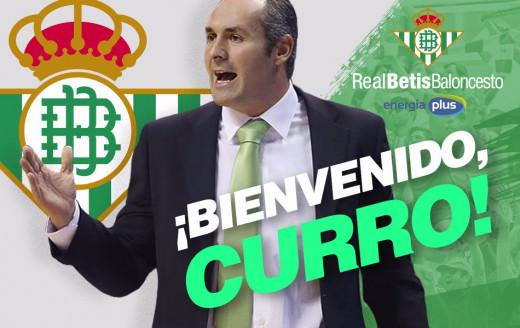 Mensaje de bienvenida del Real Betis al entrenador andaluz.