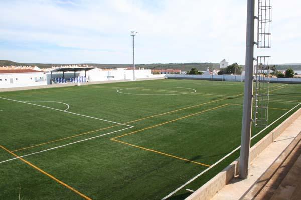 Imagen de Ses Arenes, campo de fútbol de Fornells.