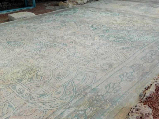 (Fotos) 60.000 euros para que luzca el mosaico de Fornàs de Torelló