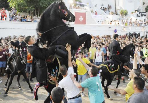 Imagen de las fiestas de Sant Joan.