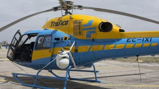 Imagen del helicóptero.