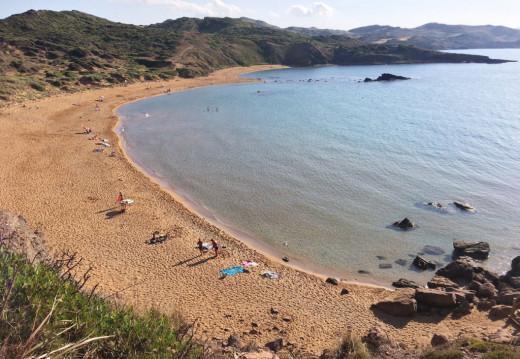 Playa de Cavalleria.