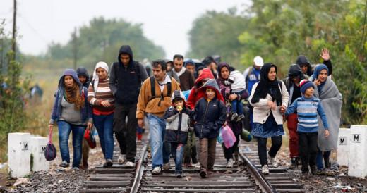 Personas refugiadas.
