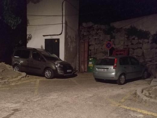 (La denuncia) El problema de aparcar en el Fonduco