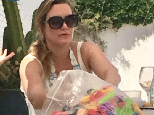 (Fotos) Kate Winslet, del Titanic a Menorca