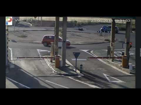 Captura de pantalla del vídeo del atropello.