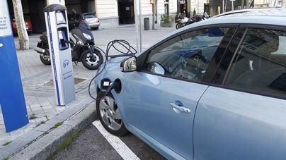 Imagen de un coche eléctrico