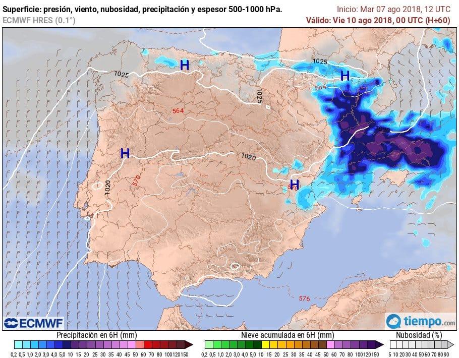 Afectará toda Menorca.