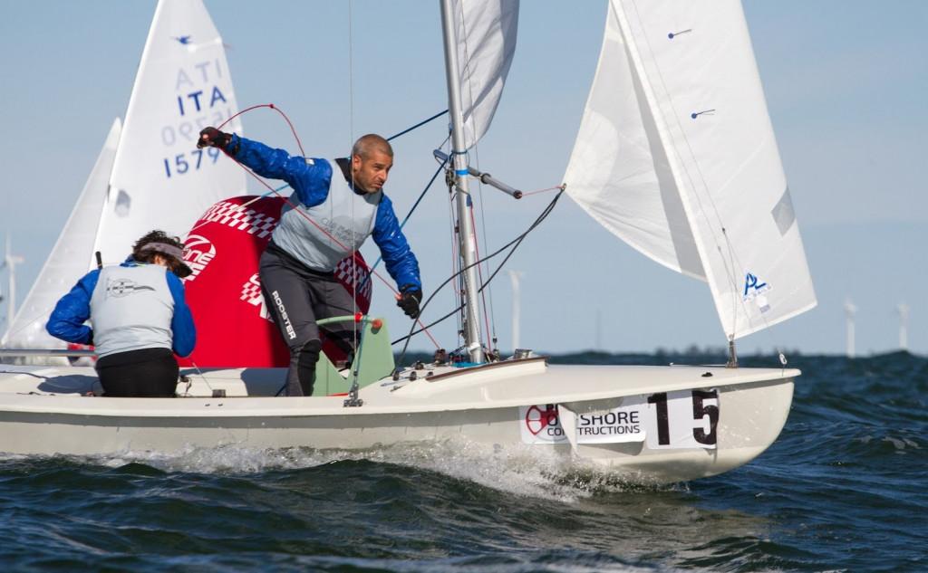 Triay y Barranco, en plena regata