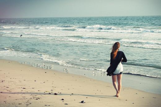 Las playas atraen a turistas ...