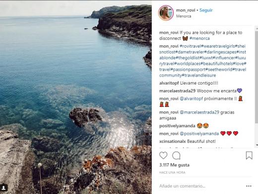 La promoción 2.0 de Menorca