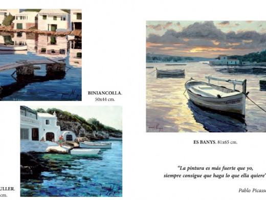 Menorca en óleos