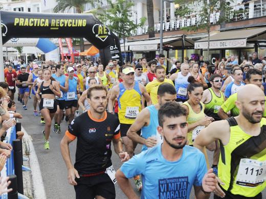 (Fotos) Fiesta del atletismo en el puerto