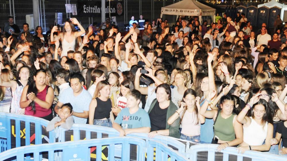 concierto 40 principales en el puerto de mao