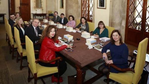 Miembros del Govern.
