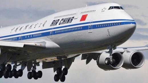 Avión de Air China.