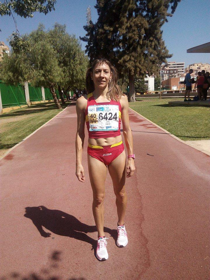 Lita López, en Málaga (Foto: Manolo Muñoz)