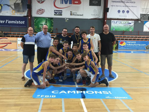 (Fotos) Boscos y La Salle Maó, campeones de la Copa AON infantil