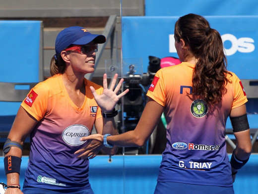 (Fotos y vídeo) Gemma Triay pierde la final del Master de Portugal