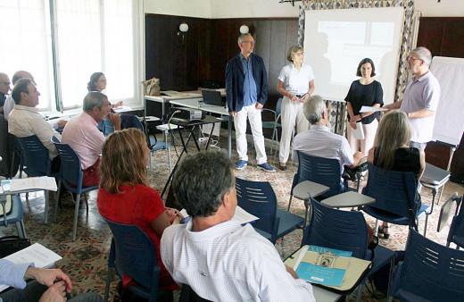 Aula de la Escuela de Salud Pública de Menorca