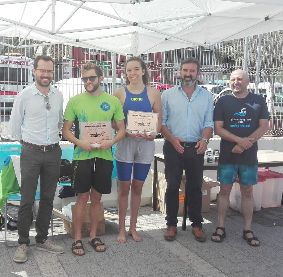 Imagen de los ganadores (Foto; Aj. Maó)