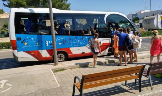 Imagen del servicio de bus