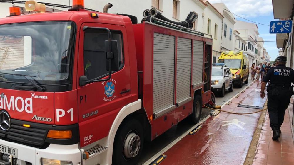 Incendio Sant Lluís 100918