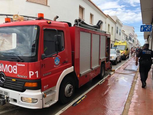 Incendio en un piso en Sant Lluís