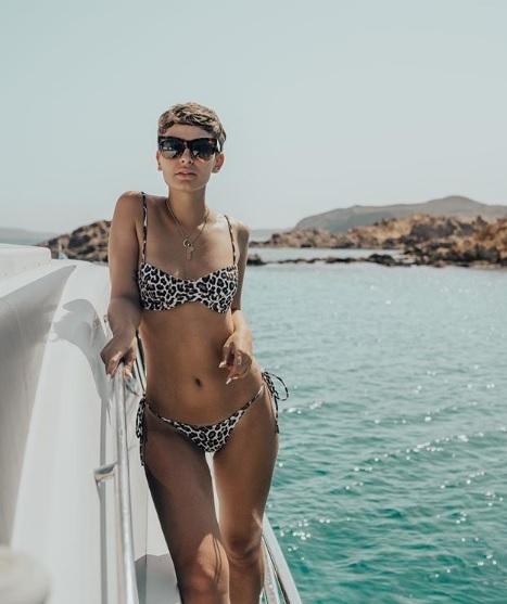 Laura Escanes, en Menorca