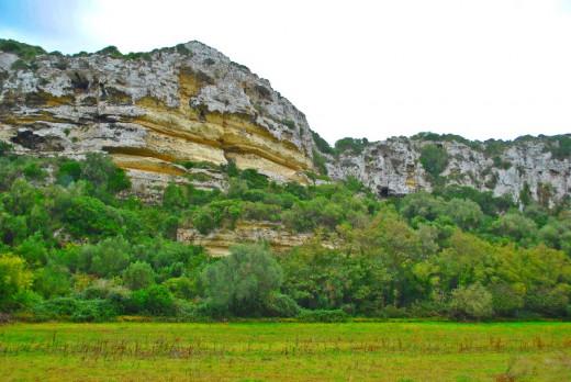 Paisaje de la Reserva de la Biosfera de Menorca