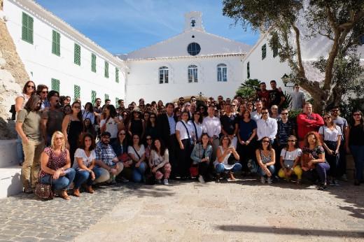 Los agentes de viajes portugueses han visita hoy Monte Toro