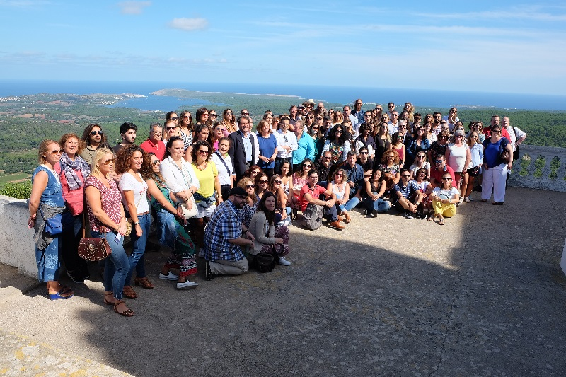 Un centenar de agentes de viaje portugueses visitan Menorca