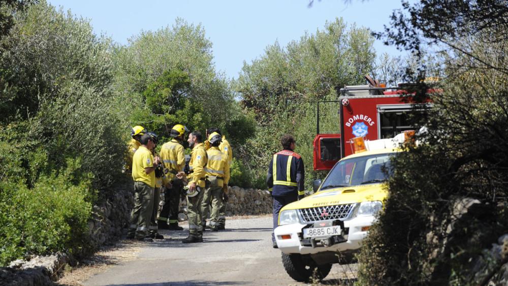 Imagen de archivo de un incendio.