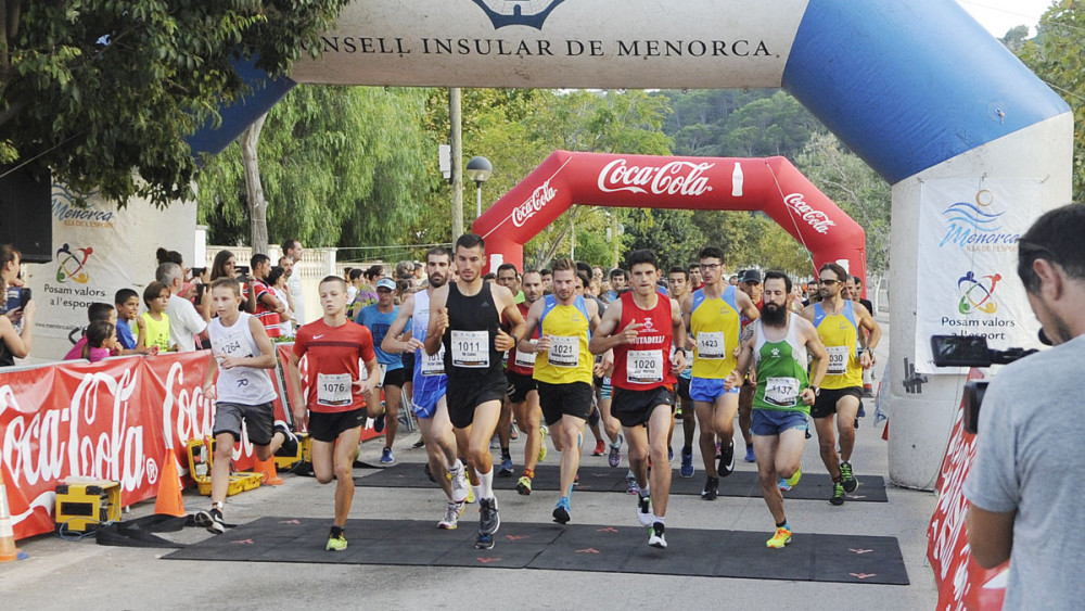Una imagen de la carrera (Fotos: Tolo Mercadal)